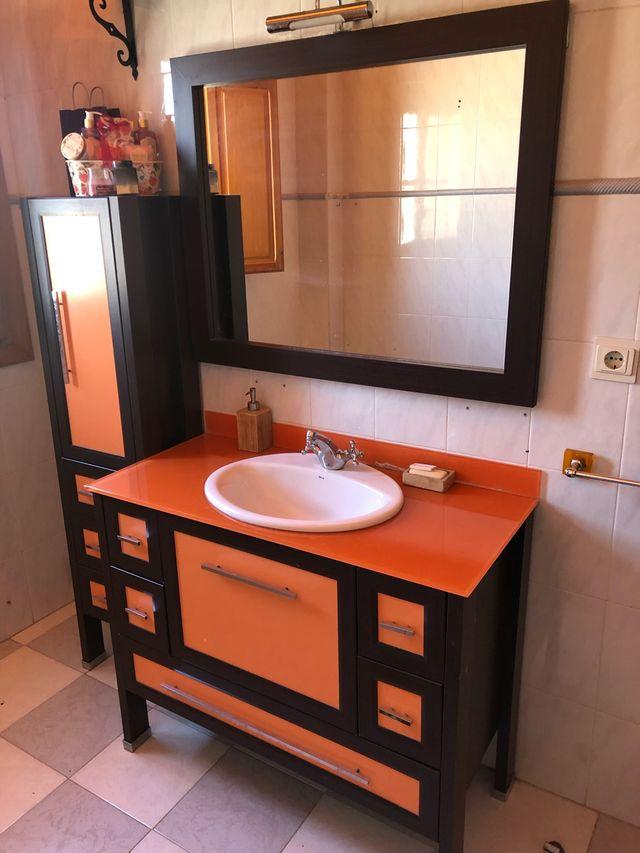 Muebles cuarto de baño completo de segunda mano por 195 € en Granada ...