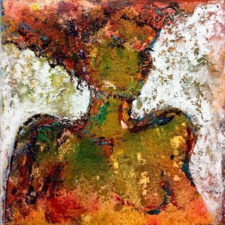 Una pintura acrílico