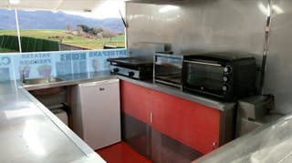 Remolque bar 750kg food truck