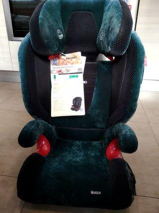 silla automovil recaro monza seatflix