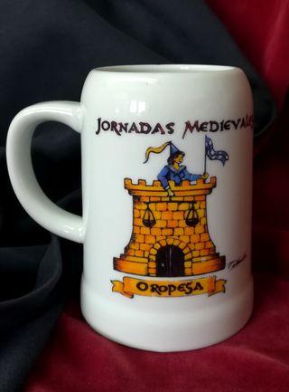 Jarra JORNADAS MEDIEVALES OROPESA..