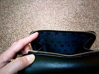DKNY Black Clutch Bag