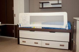 Barrera de cama niños,180 cm . Barrera seguridad