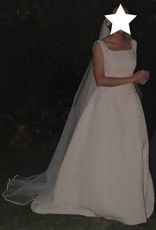 vestido de novia talla 38 de segunda mano en valladolid en wallapop