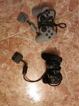 dos mandos de playstation