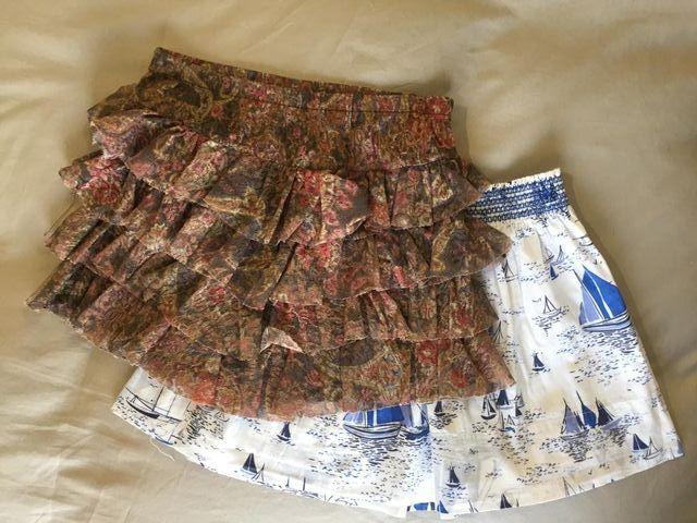 Conjunto de faldas.