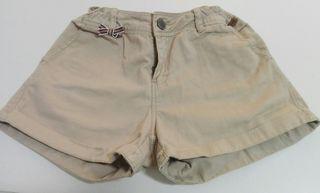 Pantalón corto niña Zara.