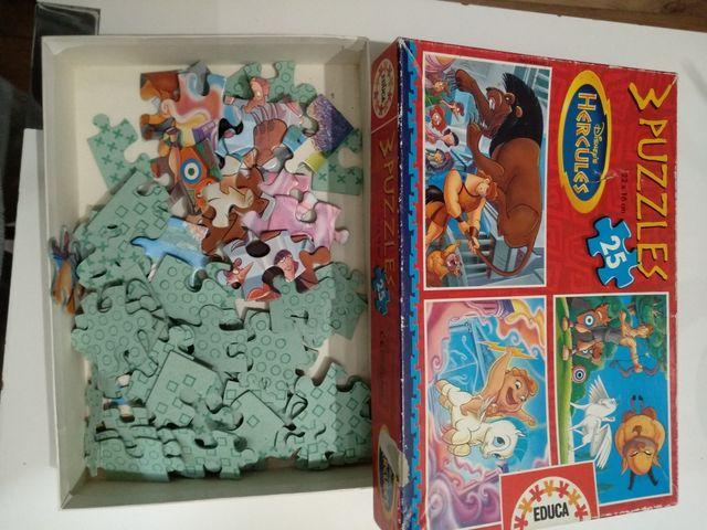 puzzles Hércules