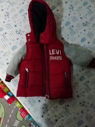 cazadora Levi's talla 6meses