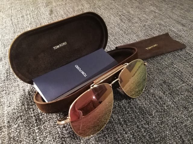 6564dc5891 Gafas de sol TOM FORD Hombre. de segunda mano por 100 € en ...