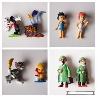 Figuras de goma variadas