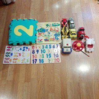 Lote de juguetes para niños de 2 a 7 años