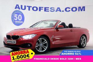 BMW 420 F33 Cabrio 420d 190cv Sport Line Auto 2p
