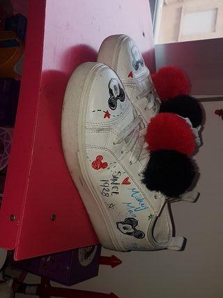 zapatos mickey mouse