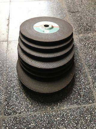 Discos amoladora 230x7x22,2 para desbaste acero