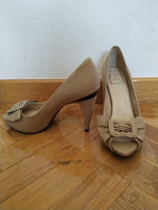 7726b0b8 Zapatos de tacón Zara de segunda mano en Alcalá de Henares en WALLAPOP