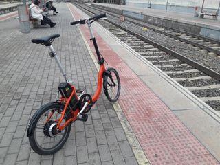 Bici plegable eléctrica