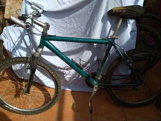 bici de montaña cuadro y llantas de aluminio 26