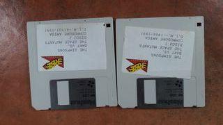 Juego Los Simpsons Bart Commodore Amiga
