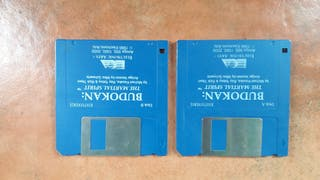 Juego Budokan Commodore Amiga