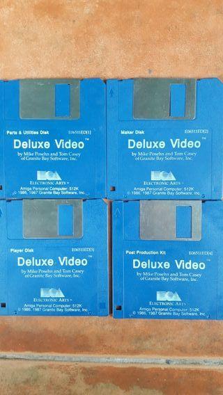 Programa Video Deluxe Commodore Amiga