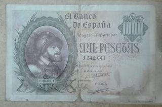 1000 pesetas 1940