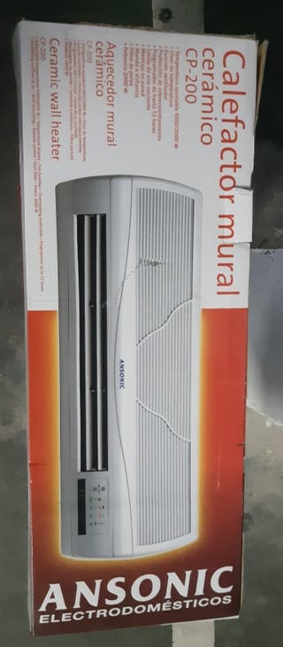 Calefactor cerámico para colgar