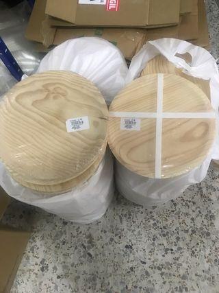 Platos de madera para embutidos y pulpo