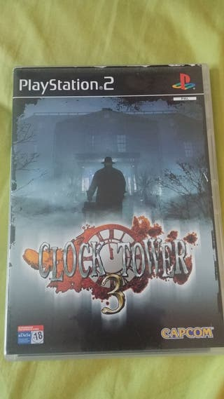 Clock tower 3 para Sony playstation 2 ps2