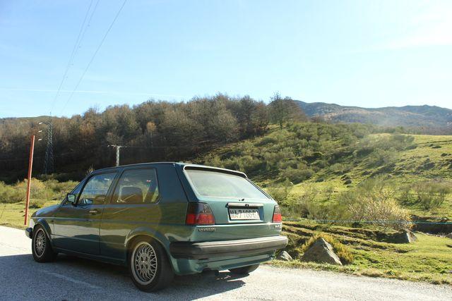 Volkswagen Golf mk2 swap 1.9 tdi