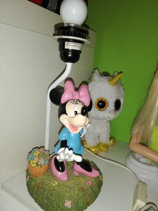 Lámpara de Mickey mouse..