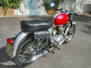 cafe racer clásica 1964 bultaco mercurio 155 cc