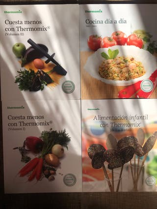 4 libros de thermomix Nuevos