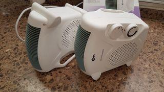 Calefactor electrico, termoventilador