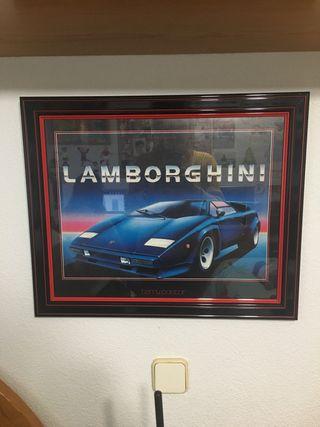 Cuadro Lamborghini Lamborghini 1983