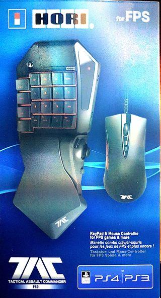 HORI TAC PS4/PS3 Teclado y ratón