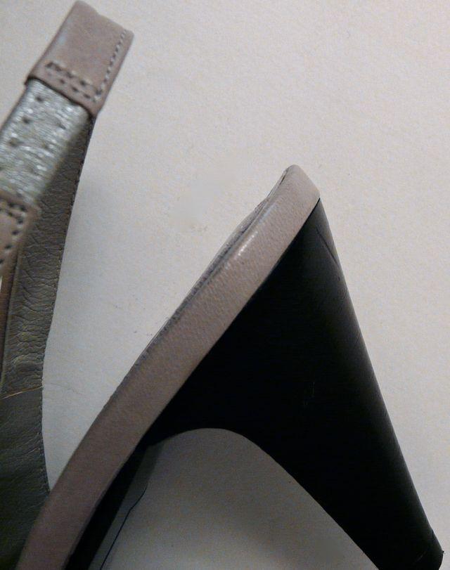 sandales Pasquale Scarpati Gris Beige 38/38,5