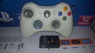 Mando xbox 360 con bateria