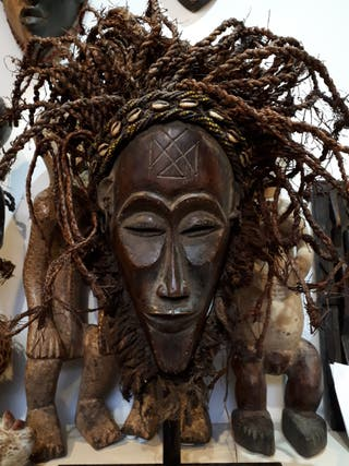 Gran máscara Chokwe