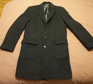 Abrigo traje Emidio Tucci gris negro