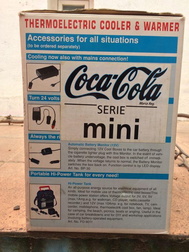 Mini nevera Coca Cola portátil