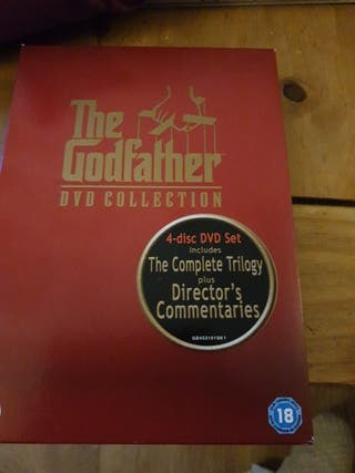 The Godfather box set.