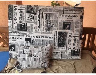 Cabecero cama 90 Newspaper