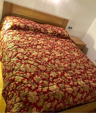 Colcha antigua de algodón de segunda mano por 40 € en Palma
