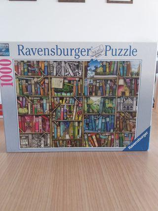 Puzle Ravensburger librería mágica