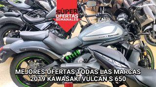 2019 KAWASAKI VULCAN S 650 MOTOS NUEVAS OFERTAS