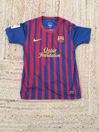 Camisetas Barcelona de segunda mano en WALLAPOP e7f278f9ecf