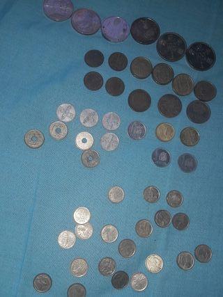 lote de monedas españolas