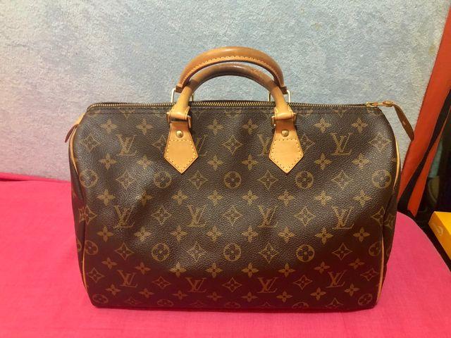 7249d73e6 Bolso Speedy 35 Louis Vuitton de segunda mano por 375 € en Consell ...
