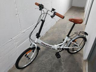 bicicleta moma bike plegable